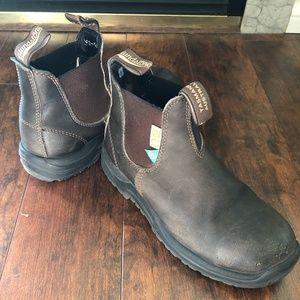 Blundstone 162 Work & Safety Boots - Brown